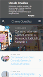 Mobile Preview of chemagonzalez.es